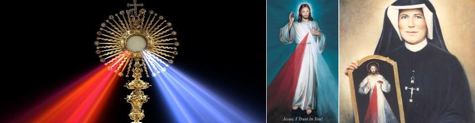 divine mercy novena and feast devotions and prayer saint michael